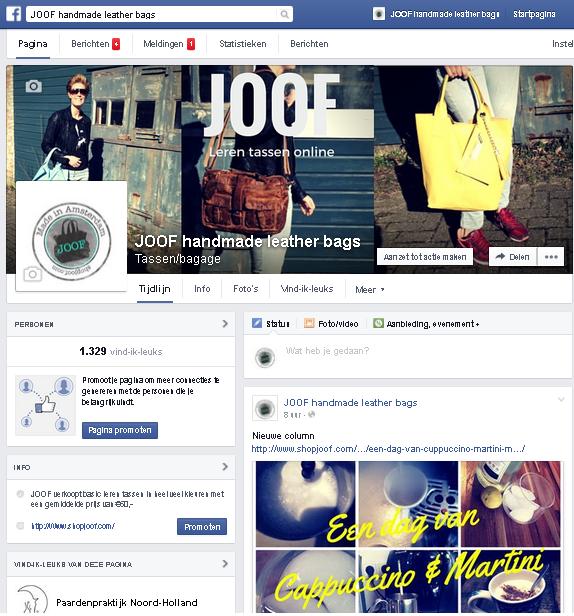 facebook marketing voor een webshop