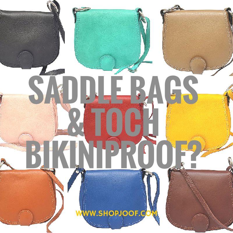Saddle bags en toch bikiniproof? Het kan!