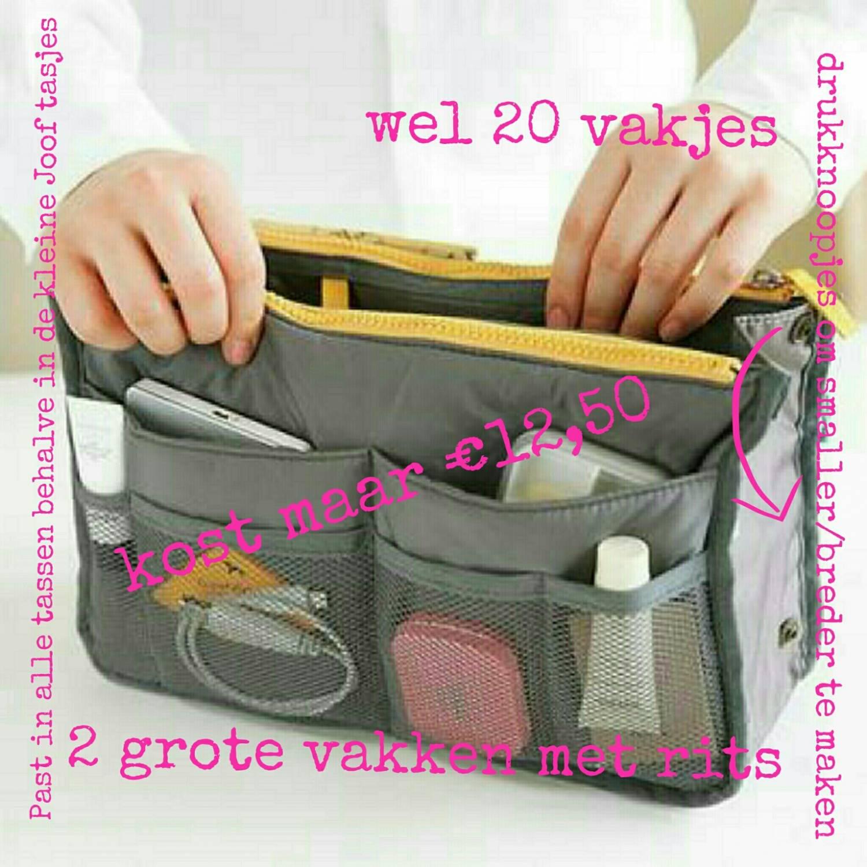 Het goedkoopste en handigste tasje uit de webshop: de bag in bag