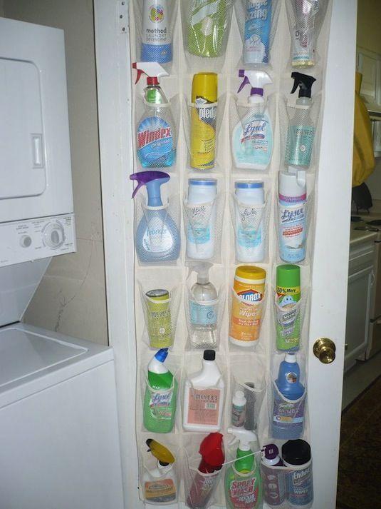 opruimen schoonmaakmiddelen