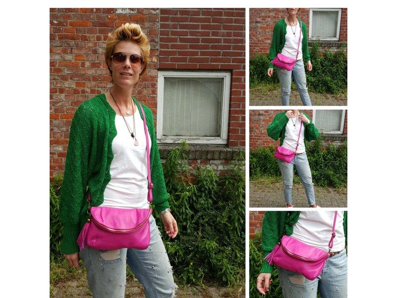 JOOF Leren Citybag / Avondtasje bruin