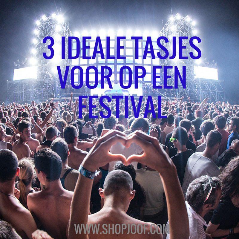 3 ideale leren tasjes voor een festivalbezoek.