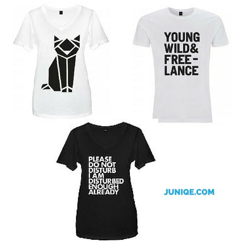 Webshoptip: geweldig leuke t shirts van Juniqe.com