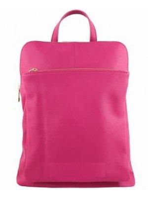 JOOF Leren rugzak uit Italie roze