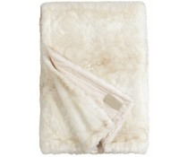 Faux Fur Throw Polar bear