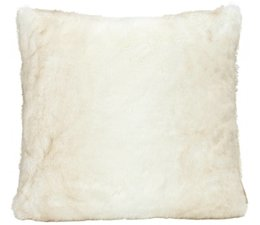 Faux Fur Cushion Polar Bear
