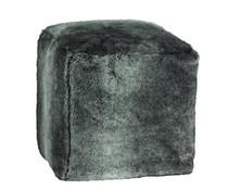 Pouf Cube Timberwolf