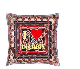 I Love Lacroix Multicolore Kussen