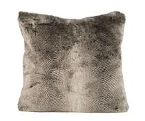 Faux Fur Cushion Chipmunk