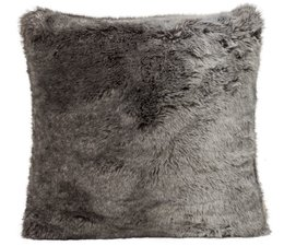 Faux Fur Cushion Timberwolf