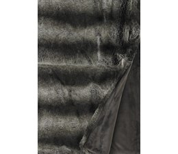 Faux Fur Throw Loup