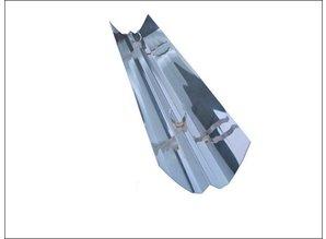 T5 reflector 80w incl. clip, length app. 140,5cm