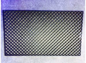 Stekkenrooster zwart 68 x 40 cm