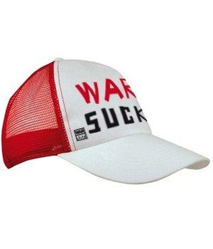Trucker cap, War Sucks