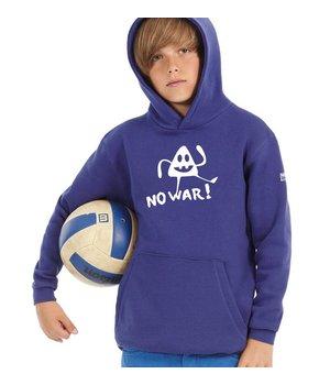 Hooded sweater No War!