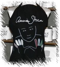Annie Sloan schort