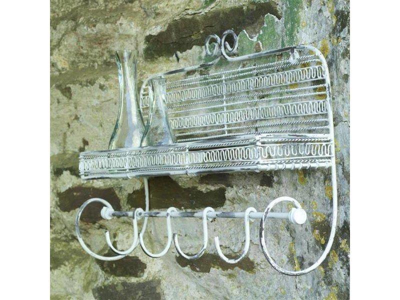 Metalen rekje met haken