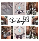Be Bangled armband met gelukshanger WISH