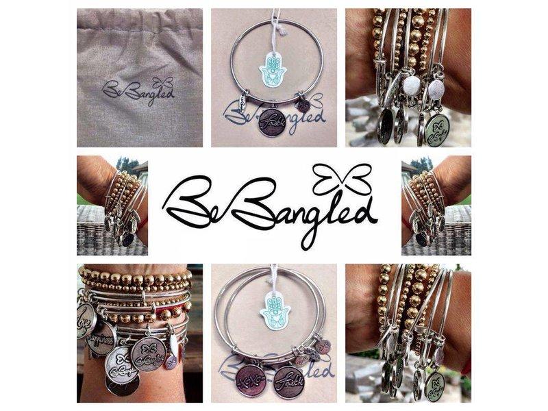 Be Bangled armband met gelukshanger LOVE