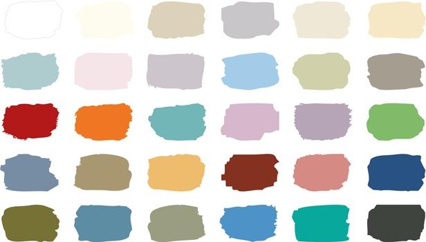 De kleuren van Annie Sloan Chalk Paint