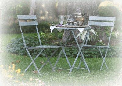 Annie Sloan voor buiten, tuinmeubels