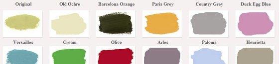 Annie Sloan kleuren