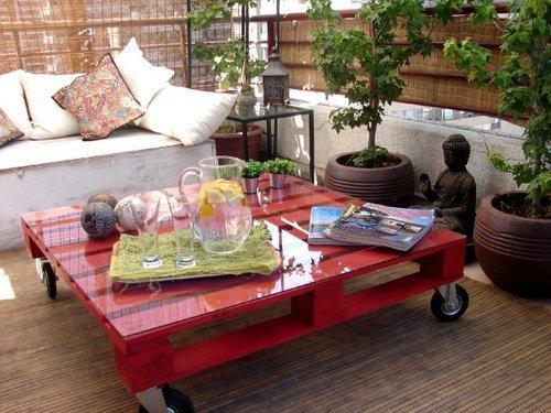Pallets en steigerhout verven met Annie Sloan krijtverf