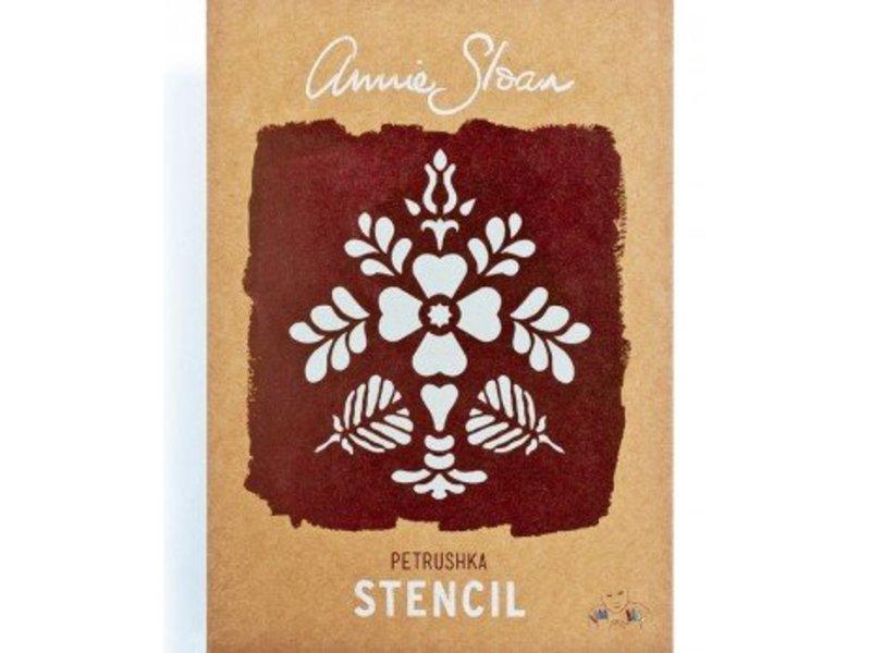 Annie Sloan sjabloon Petrushka A4