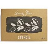 Annie Sloan sjabloon Oak Leaves A3