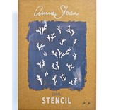Annie Sloan sjabloon Coral A3