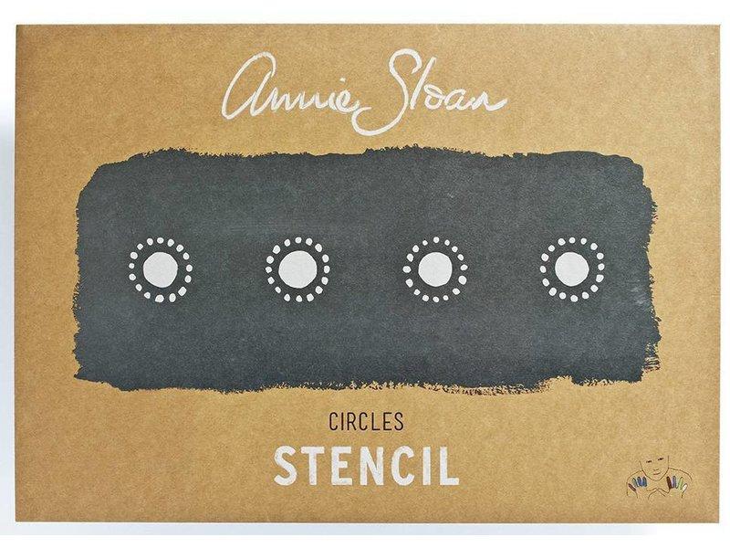 Annie Sloan sjabloon Circles A3