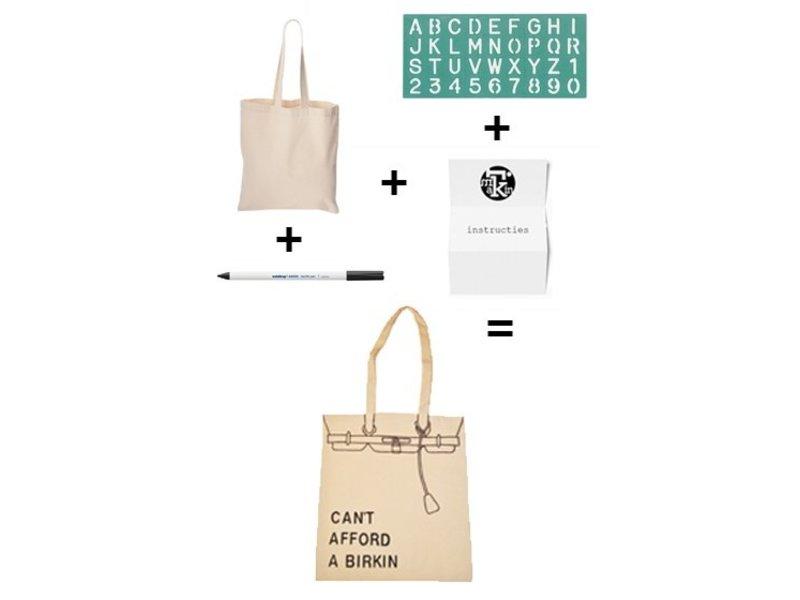 Imakin pakket maak je eigen design tas