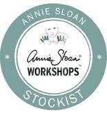 27 maart 2017: Annie Sloan basistechnieken + sjabloneren. Prijs 29,50 euro