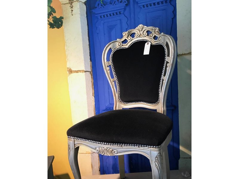 Vintage barok stoelen (set van 4)