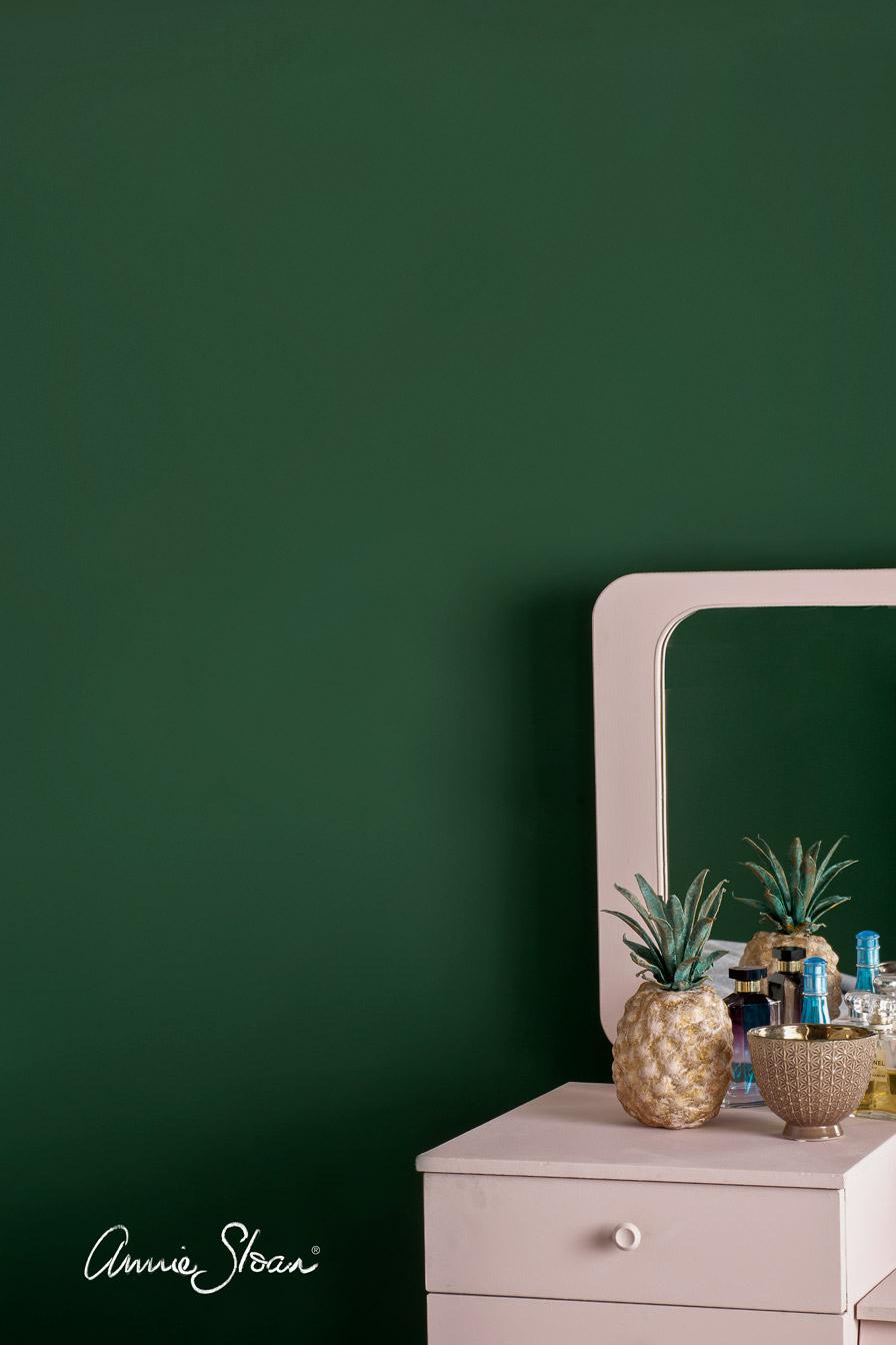 annie sloan wall paint amsterdam green