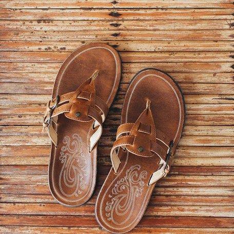 Slipper Collection en cuir