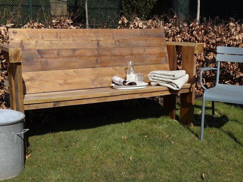 'Lauvstad Garden' tuinbank van steigerhout