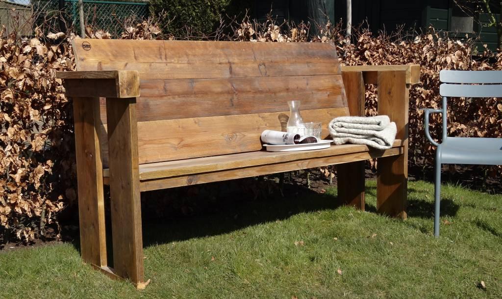 Banc de jardin du bois d\'échafaudage - PURE Wood Design