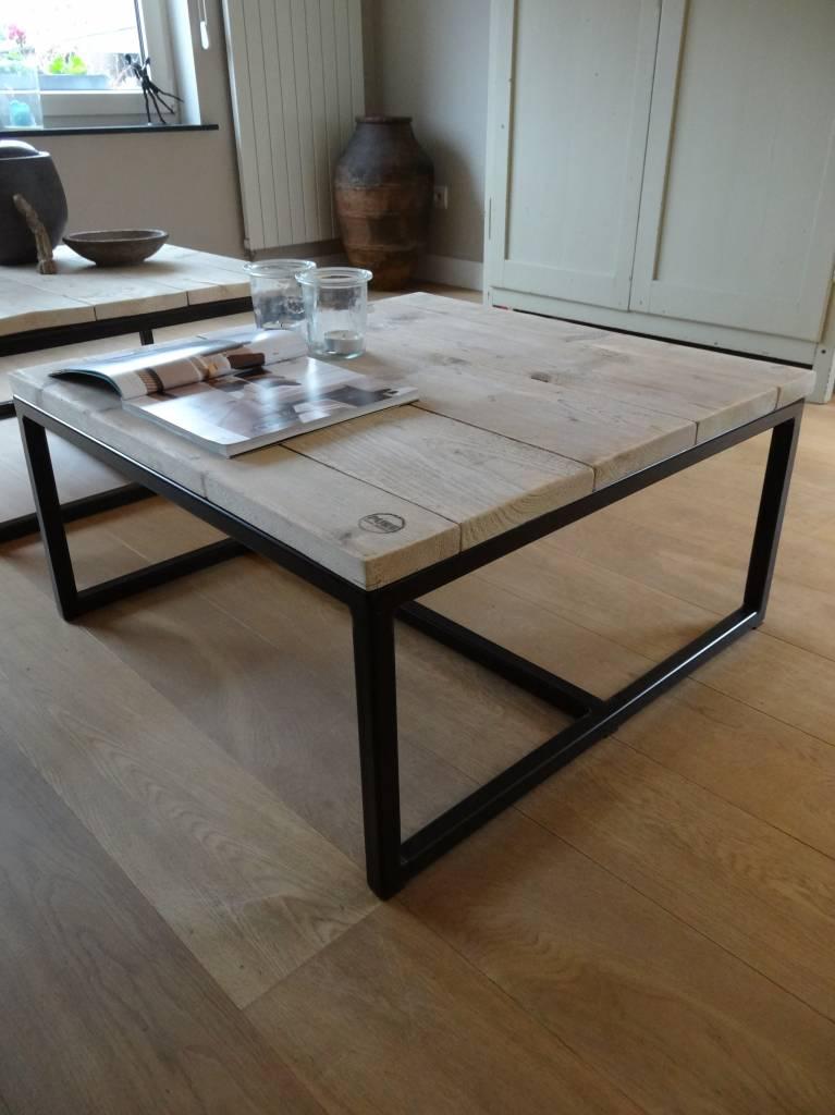 39 varberg 39 industriele salontafel steigerhout staal open