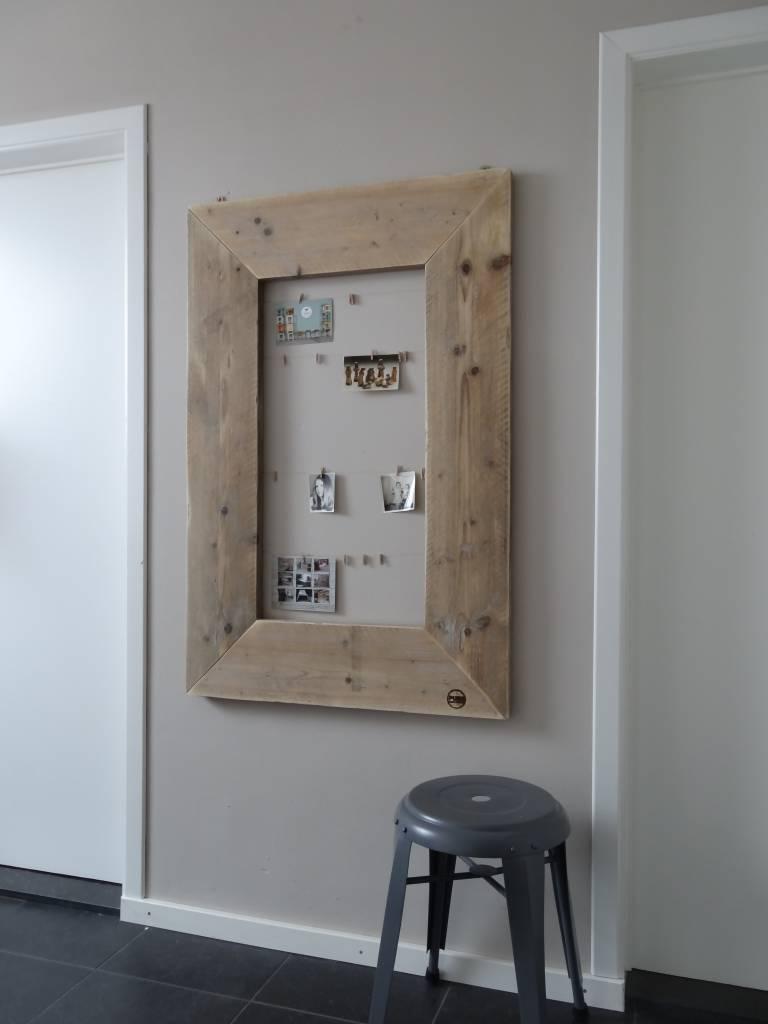 39 rossfjord 39 fotolijst steigerhout pure wood design. Black Bedroom Furniture Sets. Home Design Ideas