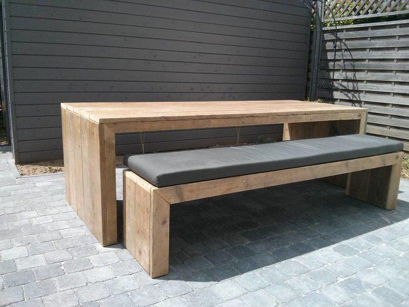 PURE wood design Banc du bois d'échafaudage