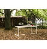 'Brandal Outdoor' industriele tuintafel steigerhout/stalen frame