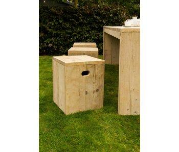 PURE wood design 'Sande Garden' Tuinkruk steigerhout