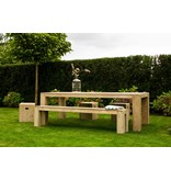 PURE wood design 'Sande Outdoor' Tuinkruk steigerhout