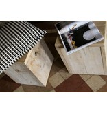 PURE wood design Tabouret en bois d'échafaudage