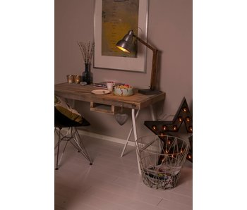 "PURE wood design ""Tonstad"" Bureau en pin recyclé"