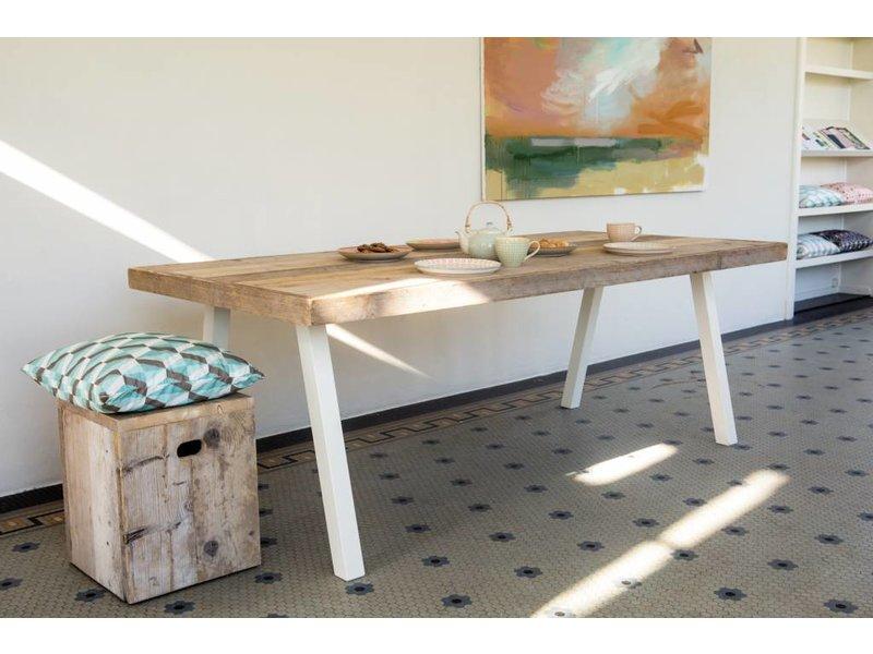 """Arendal"" Table scandinave en pin recyclé"