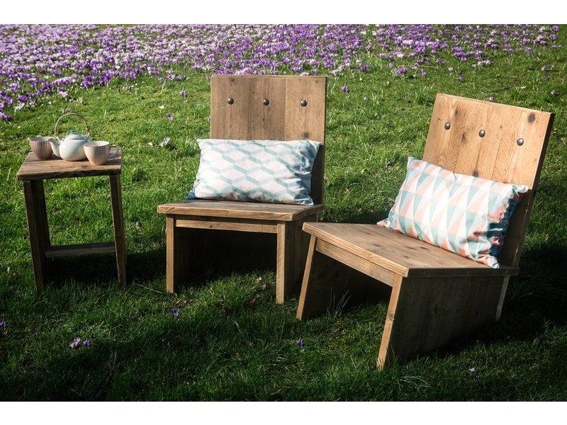 'Eggdal Garden' tuinset steigerhout