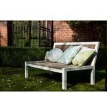 'Linde Garden' Relaxbank steigerhout met staal