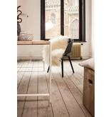 PURE wood design 'Nordby' industriële tafel steigerhout zwevend blad/stalen poot